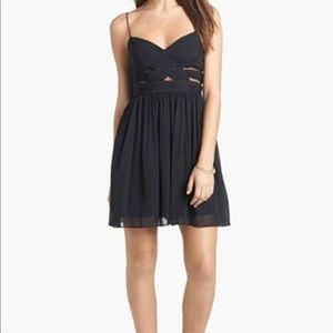 Hailey Logan Cutout Chiffon dress
